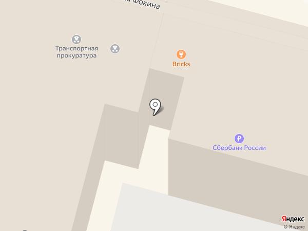Горыныч на карте Владивостока