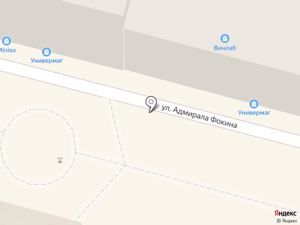Сытый панда на карте Владивостока
