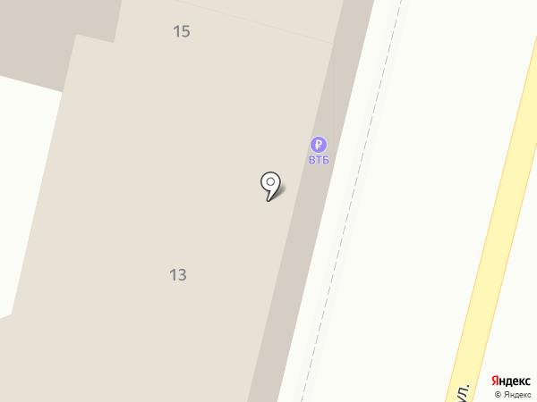 Банкомат, Банк ВТБ 24, ПАО на карте Владивостока