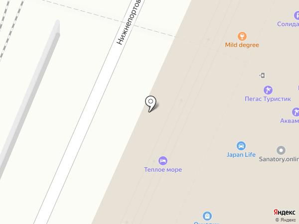 Сэнкон на карте Владивостока