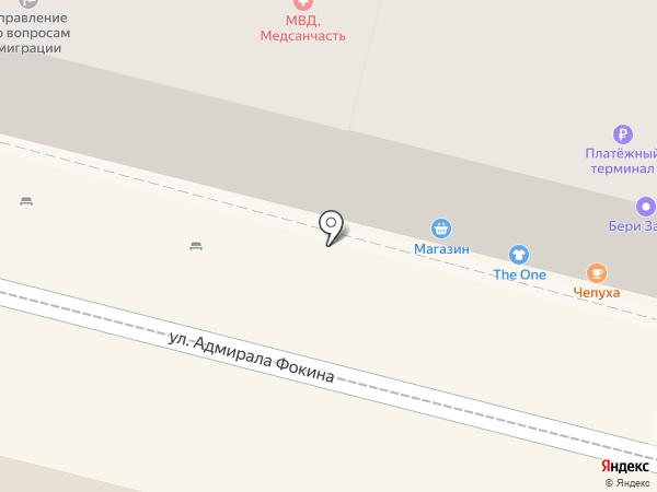 Огонёк на карте Владивостока