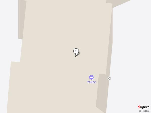 Отделение почтовой связи на карте Русского