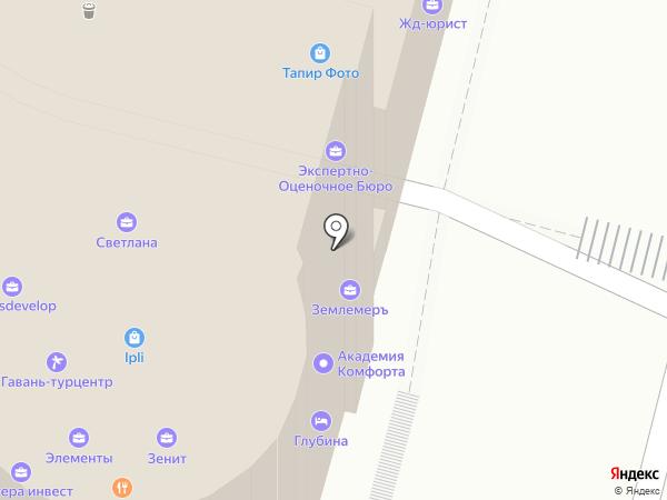 Росбизнесресурс на карте Владивостока
