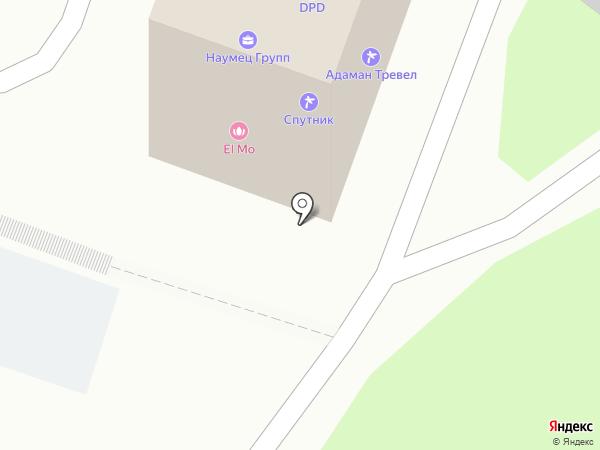 Адаман Тревел на карте Владивостока
