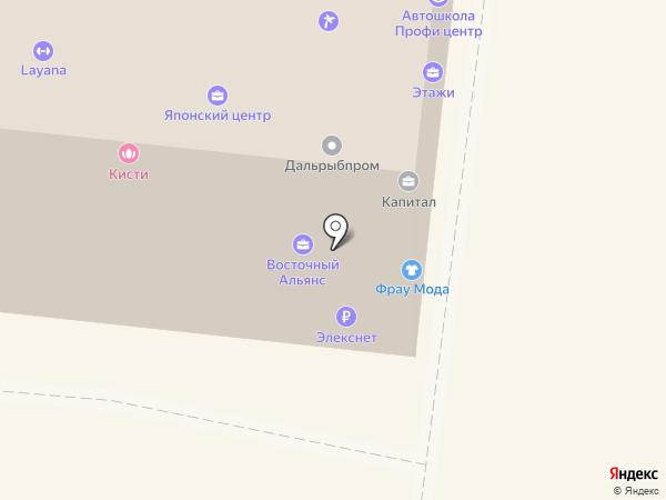 Боуз Групп на карте Владивостока