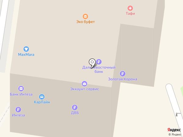 Ариран на карте Владивостока