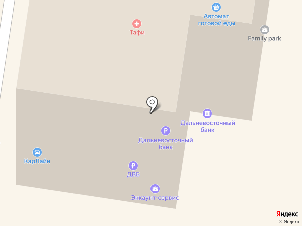 Владивостокское бюро путешествий и экскурсий на карте Владивостока