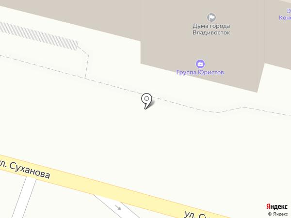 Арбитражный управляющий Павловский В.Д. на карте Владивостока