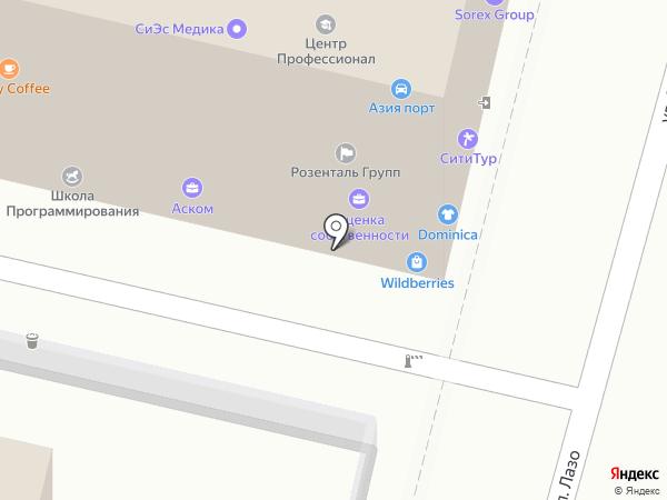 SOREX GROUP на карте Владивостока