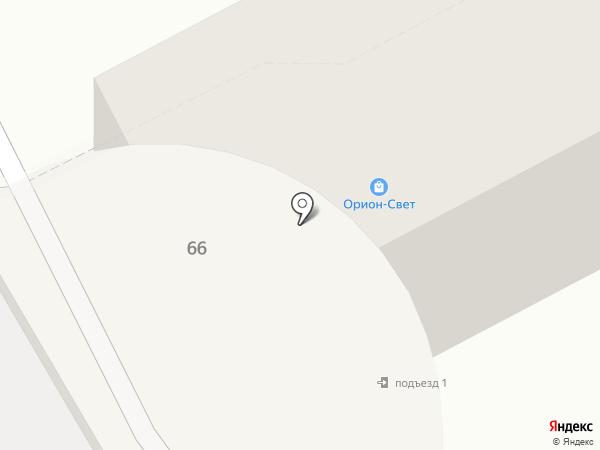 Орион-Свет на карте Владивостока
