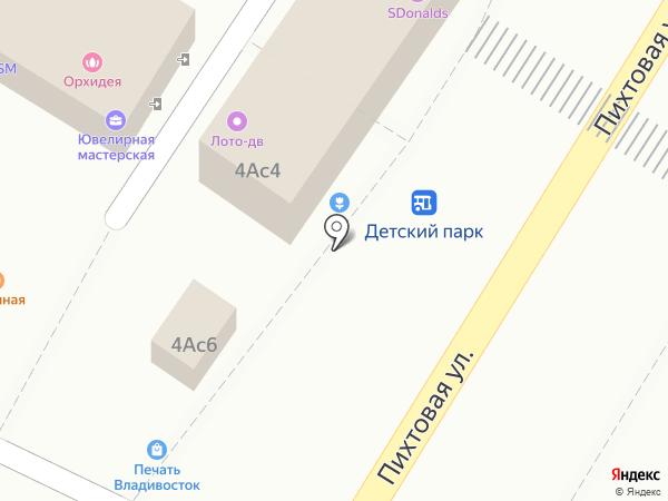 Букет25 на карте Владивостока