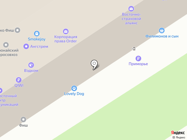Маленький Моцарт на карте Владивостока