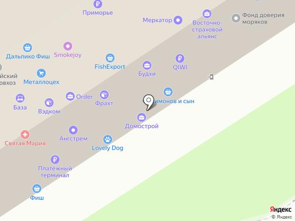 Cifrozaim на карте Владивостока