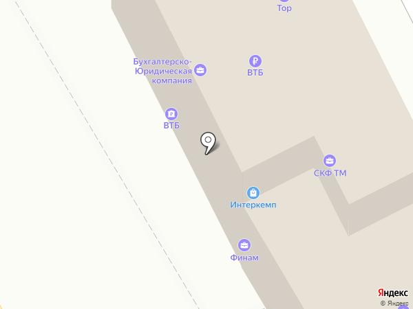 Банк ВТБ24, ПАО на карте Владивостока