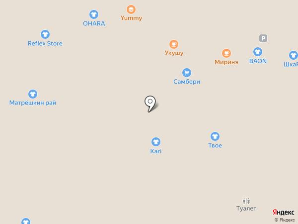 Укушу на карте Владивостока