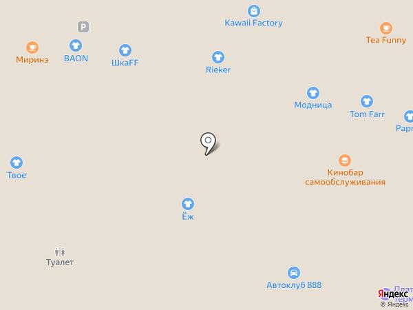 Баритон на карте Владивостока