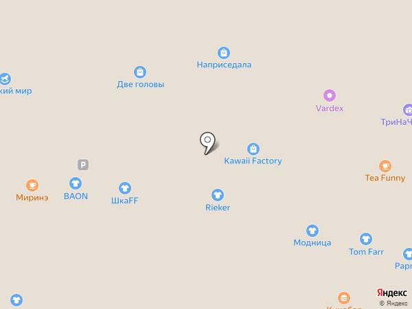 Мосигра на карте Владивостока