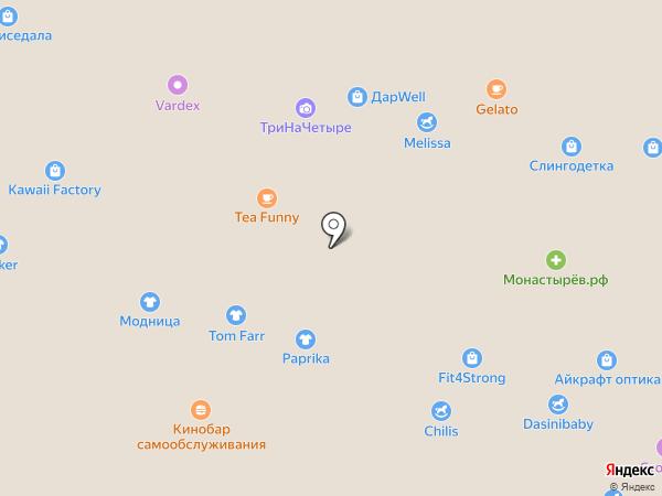 Корея Детям на карте Владивостока