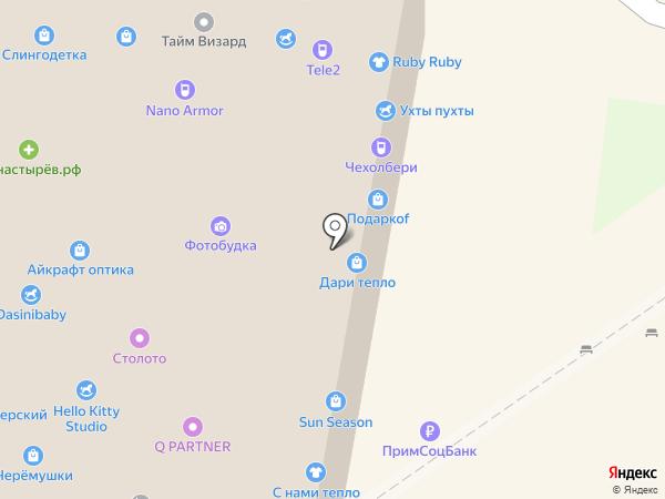 Чудокартина на карте Владивостока