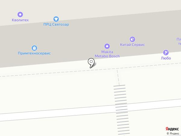 Элегант на карте Владивостока