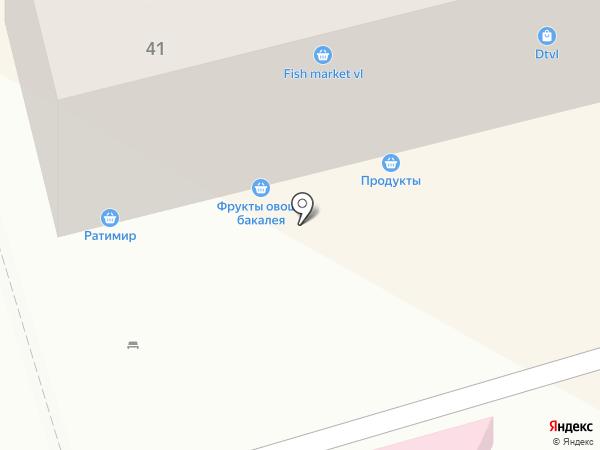 Гост на карте Владивостока