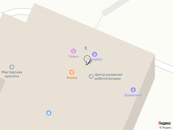 Чайка на карте Владивостока