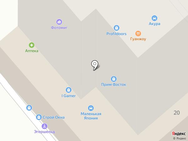 ФОТОН на карте Владивостока