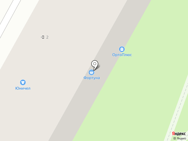 Юничел на карте Владивостока