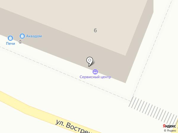 Флотенк, ЗАО на карте Владивостока
