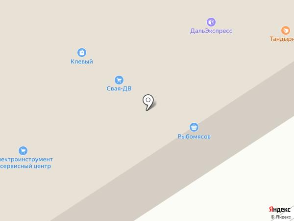 Рыбомясов на карте Уссурийска