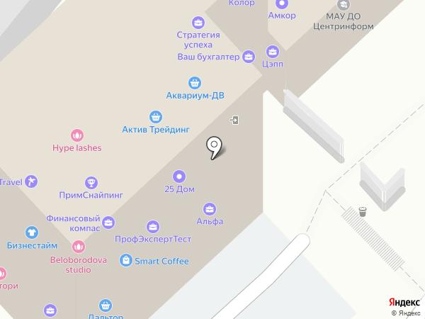ПРОФСТРОЙ на карте Владивостока