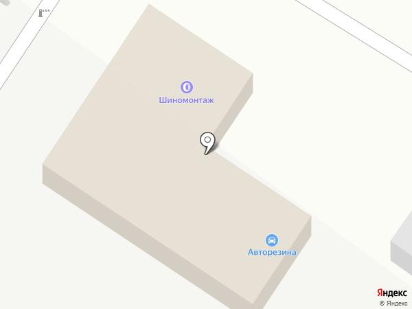 Шиномонтажная мастерская на карте Уссурийска