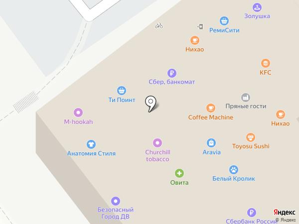 Дальневосточный Дом на карте Владивостока