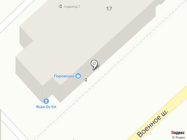 Сота-Б на карте Владивостока