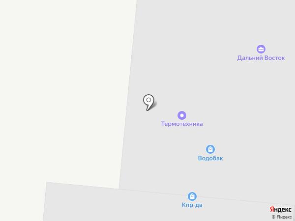 Ранчо Камней на карте Владивостока