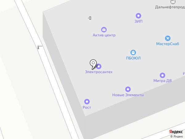 ЭИС на карте Владивостока