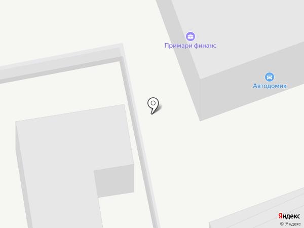 Автодомик на карте Владивостока