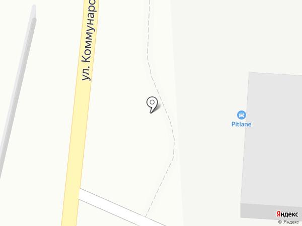 Автомагазин на Коммунаров на карте Владивостока