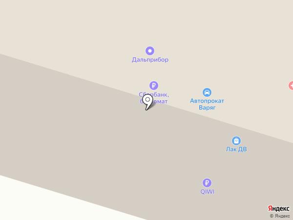 ДарИнвестСтрой на карте Владивостока