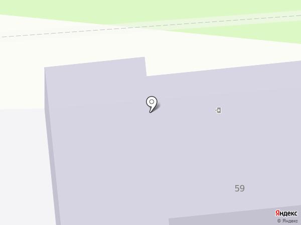 Средняя общеобразовательная школа №24 на карте Уссурийска