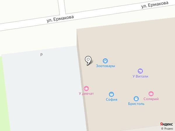 Одевайка на карте Уссурийска