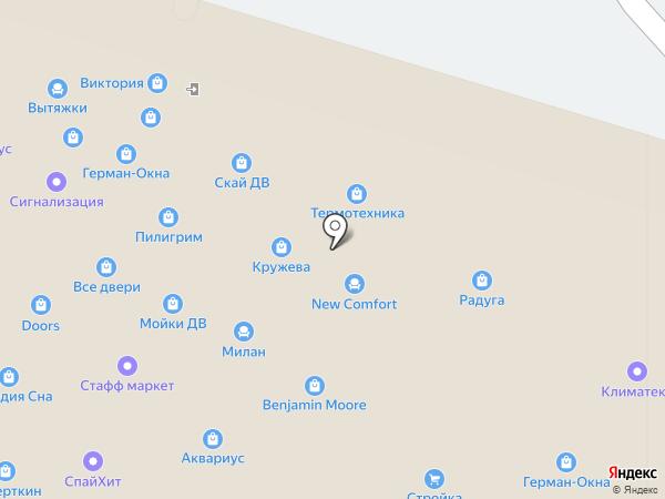 Прораб на карте Владивостока