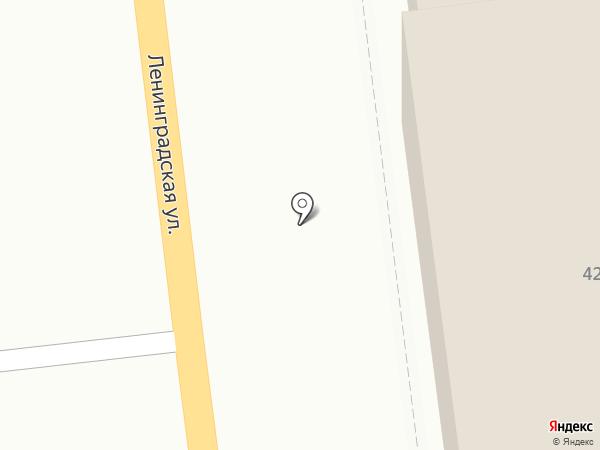 Канцелярская крыса на карте Уссурийска