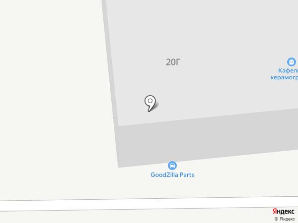 ГодзиллаПатс на карте Владивостока