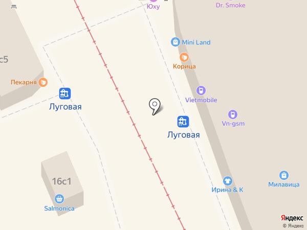 Продуктовый в ПТК на карте Владивостока