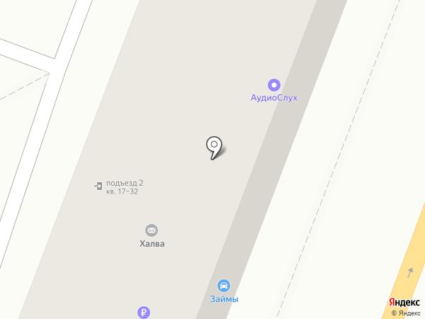 Р25 на карте Владивостока