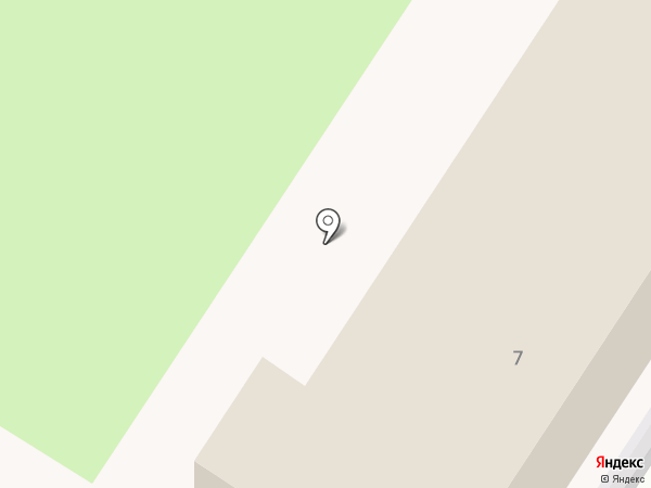Уссурийский военный госпиталь на карте Уссурийска