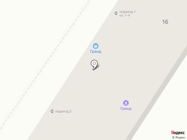 Гранд на карте Уссурийска