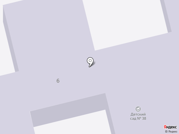 Детский сад №38 на карте Уссурийска