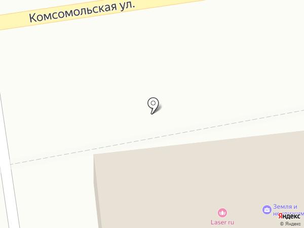 Дружина на карте Уссурийска